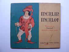 Samivel MERLIN MERLOT 1948 Albums du Père Castor FLAMMARION Bon État