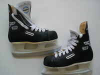 BAUER IMPACT 30 ICE HOCKEY SKATES YOUTH US J 3  SALE  $34 MADE IN CANADA