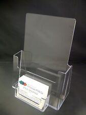 A5 COMPTEUR Debout Dépliant Menu/Titulaire & Central Business Card Holder