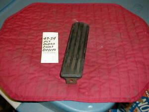 NOS MOPAR 1949-50-51-52-53-54 BLACK ACCELERATOR PEDAL