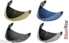 Shark S600 S650 S700 S800 S900 VZ-60 VISOR Silver Black  Blue TRACK USE ONLY