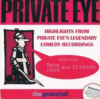 Private Eye -Highlights From The Show -Pete, Dud And Friends - Audio CD N/Paper