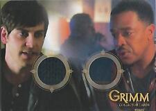 "Grimm -  GC-15 ""Det Nick Burkhardt & Det Hank Griffin"" Dual Costume Card"