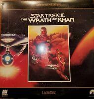 Star Trek II: The Wrath Of Khan LASERDISC Starring William Shatner