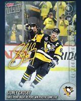 DIGITAL CARD 2017 Skate Topps Now Sidney Crosby Signature Auto DIGITAL CARD