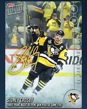 DIGITAL CARD 2017 Skate Topps Now Sidney Crosby Signature Auto DIGITAL CARD