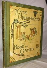 KATE GREENAWAY BOOK OF GAMES CHILDREN VICTORIAN ORIGINAL EDITION
