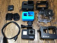 GoPro HERO7 Black - Full Dive, Silicone Case & Video Kit Bundle - Hero 7