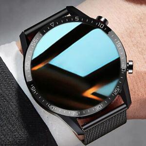 Bluetooth Smartwatch EKG Herzfrequenz Blutdruck Sauerstoff Wasserdicht Armband`