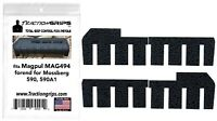 Tractiongrips rubber grip tape fits Magpul Forend for Mossberg 590, 590A1