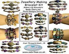 x 16 Bracelet Making Jewelry Kit
