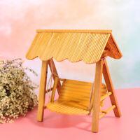 1/12 Dollhouse Miniature Furniture Swing Chair Hammock Doll House Decor Toy YK