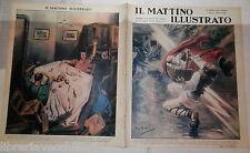 1939 Mar Nero colpito da un fulmine Grano Festa Venezia Gelsomini e tulipani di