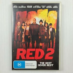 Red 2 DVD - R4 - Bruce Willis, John Malkovich, Anthony Hopkins - TRACKED POSTAGE