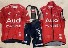 2021 Audi Cycling Kit (Climbers Jersey, Pro Vest, Pro Bibs) Size M
