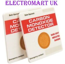 CO CARBON MONOXIDE GAS DETECTOR ALARM X2