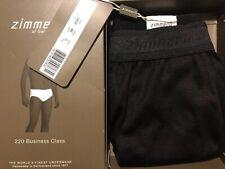 Zimmerli Men's Luxury 220 Business Class Slip Briefs Black Size S BNWT