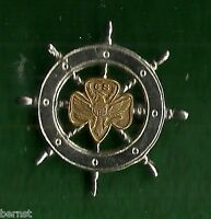 VINTAGE GIRL SCOUT - MARINERS' PIN