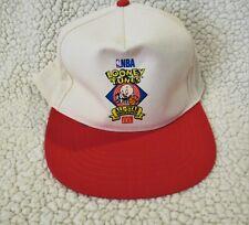 McDonald's Looney Tunes Porky NBA All-Star Showdown Snap Tab Back Crew Hat 1995