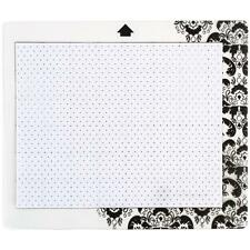 Silhouette America Stamp Material Cutting Mat 6x7.5 Cameo Portrait  -Yellowing-