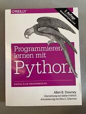 Programmieren lernen mit Python von Allen B. Downey (2014, Taschenbuch)