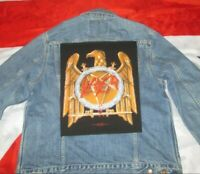 Slayer Patch Golden Eagle Backpatch