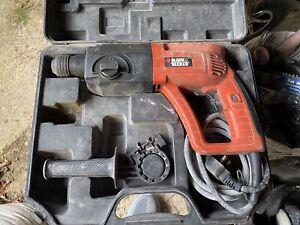 "Black & Decker corded hammer drill 240v ""WORKSHOP CLEARANCE"""