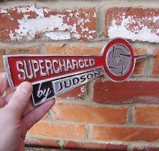Ausverkauf Supercharged von Judson Schild Garage Besetzung Aluminium Vw CLE225