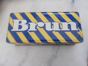 ANCIENNE  BOITE  BISCUITS  BRUN
