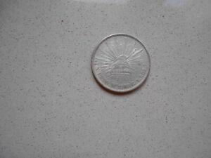 munzen mexico  un pesos 1909
