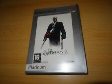 HITMAN 2 - SILENT ASSASSIN - PLATINUM - SONY PLAYSTATION 2  PS2 NEW UNSEALED