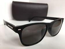 Ermenegildo  Zegna EZ 0020-F 01A 56mm Italy Black Sunglasses