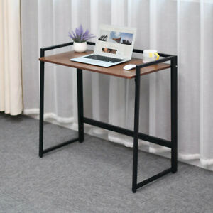 Foldable Computer Desk Home Office Study Gaming Coffee Folding Laptop PC Table