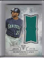 2015 TRIPLE THREADS #UJR-RCO ROBINSON CANO JERSEY MARINERS 14/36 9225