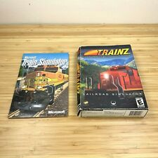 Microsoft Train Simulator Trainz Ultimate Collection Railroad Simulator Bundle