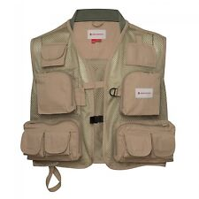 NEW REDINGTON LG/XL CLARK FORK MESH FLY FISHING VEST IN SAGE W/ FREE US SHIP