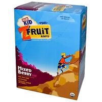 CLIF KID ZFRUIT - Organic Twisted Fruit Rope - Mixed Berry 18 Count