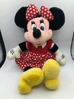 Official Disney Store Minnie Mouse Mickey Plush Soft Kids Stuffed Toy Animal