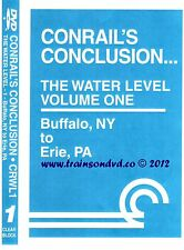 CONRAIL CONCLUSION THE WATER LEVEL ROUTE VOL 1 CLEAR BLOCK PRODUCTIONS