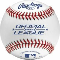 Rawlings FSOLB1 Flat Seam Official League Baseball (Dozen)