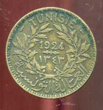 TUNISIE   2 francs  1924