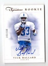 VICK Ballard NFL 2012 PRIME Signatures RC (Indianapolis Colts, New Orleans Saints