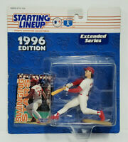 HAL MORRIS Cincinnati Reds Kenner Starting Lineup MLB SLU 1996 Figure & Card NEW