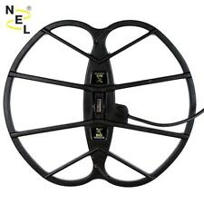 """Nel Big 15""""x17"""" DD Search Coil for Fisher F-2 / F-4 Metal Detector + Cover New"""