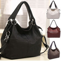 Hot Women Shoulder Bag Tote Purse Handbag Messenger PU Leather Crossbody Satchel