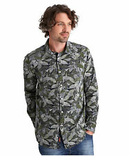 Long Sleeve Regular Fit Floral Casual Shirts & Tops for Men