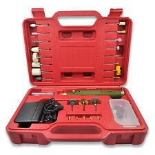 Micro drill set hand drill mini electric tools Grinder Wood Bit DIY Kit Case 1X