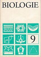 DDR Lehrbuch Biologie Klasse 9/Verlag Volk und Wissen Berlin 1982