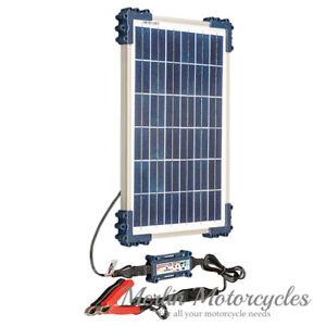 Optimate Solar Panel 12V 10W Battery Charger & Optimiser Bike Boat Car Caravan