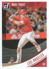 2018 Donruss Baseball #155 Mike Trout Angels